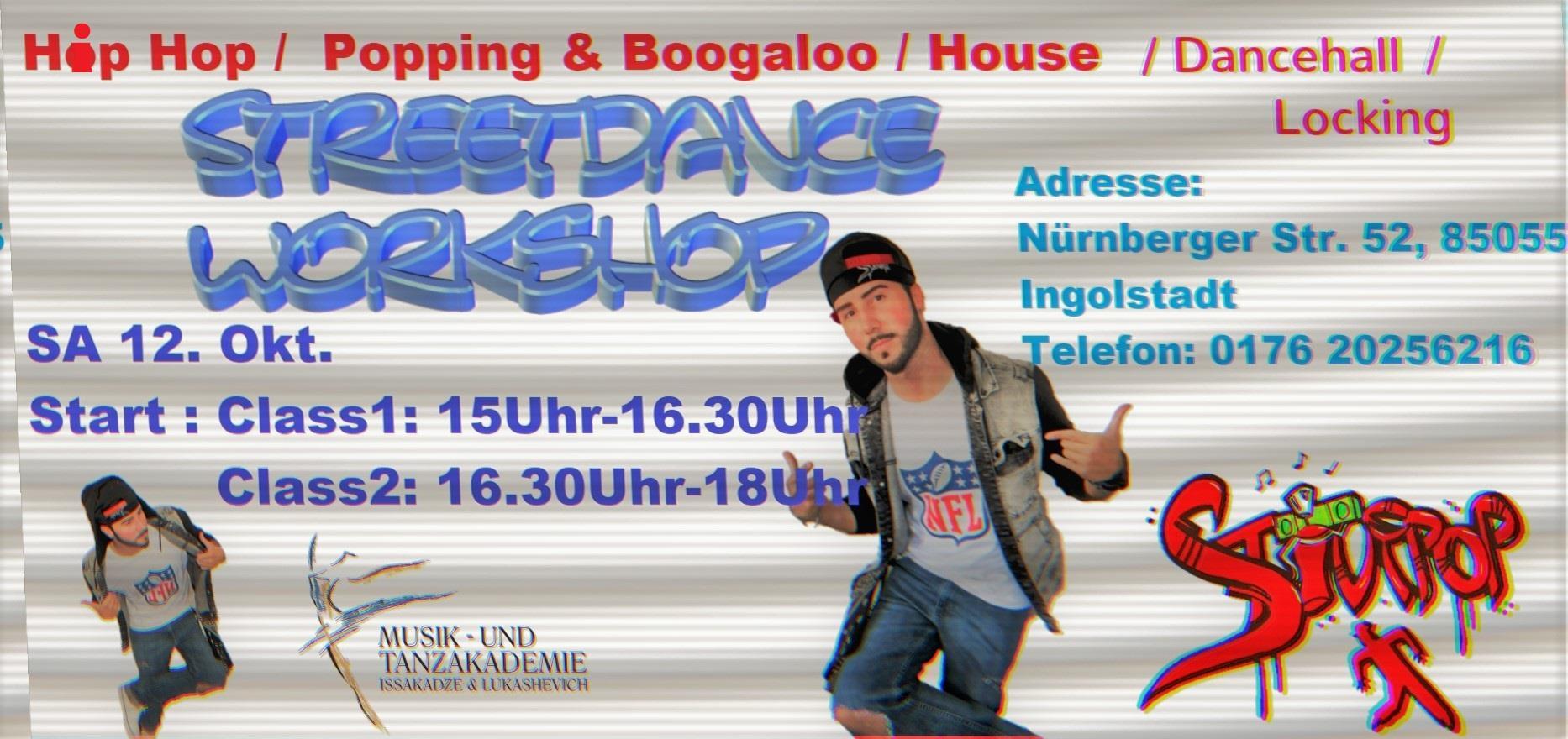 Street Dance Workshop mit Stiv Kukovec